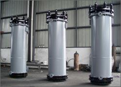 YKC series round block type graphite heat exchanger